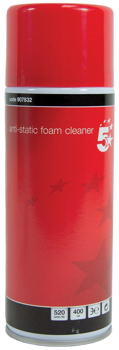 5 Star schuimreiniger, spuitbus van 400 ml