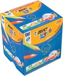 Bic Kids kleurpotlood Ecolutions Evolution, 240 + 48 stuks gratis (classpack)