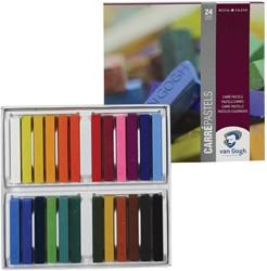 Van Gogh droge pastels, doos met 24 pastels