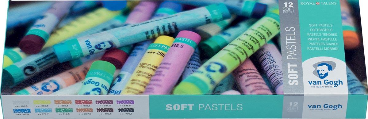 Van Gogh softpastel, doos van 12 pastels