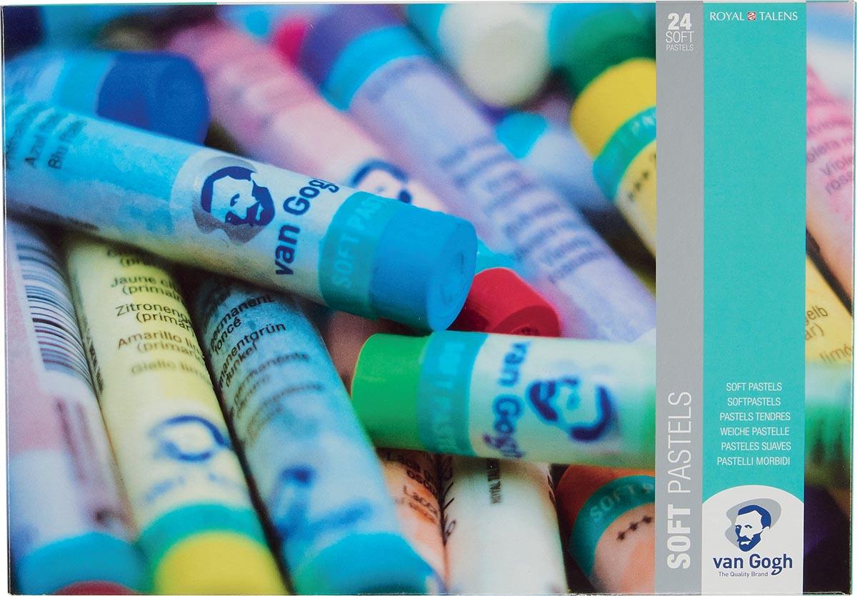 Van Gogh softpastel, doos van 24 pastels