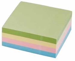 5 Star Re-Move Note Cube ft 76 x 76 mm, pastelkleuren, blok van 320 vel