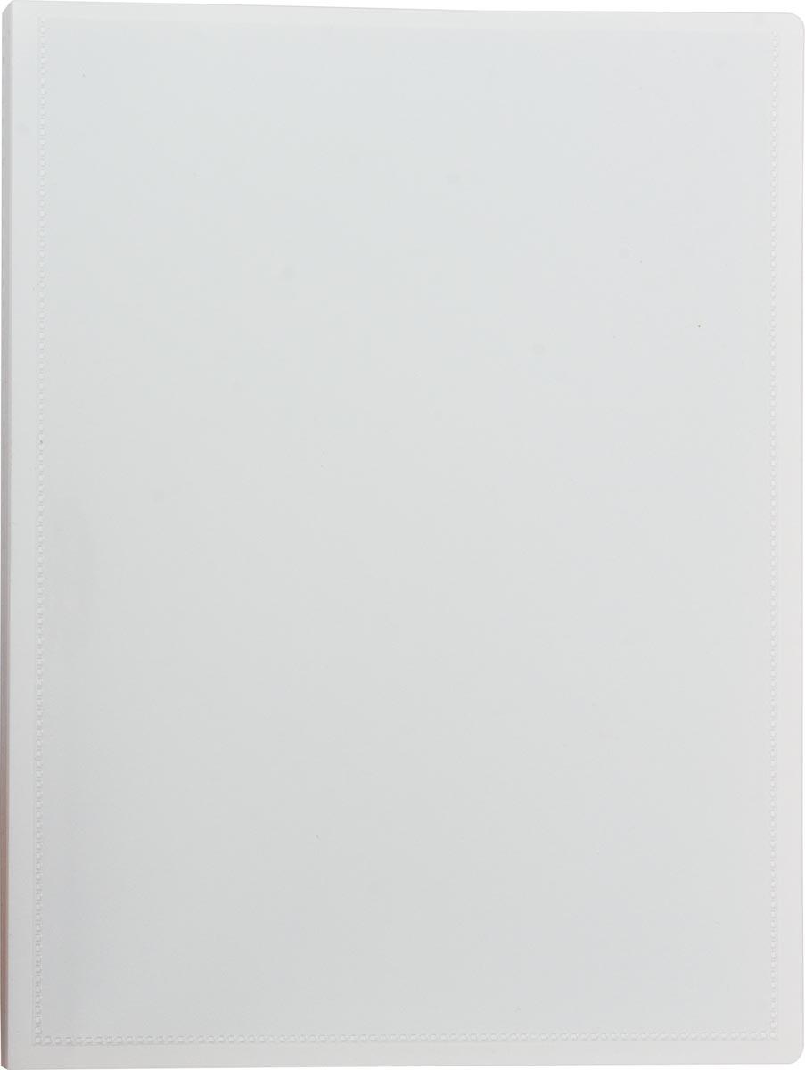 Pergamy personaliseerbare showalbum, voor ft A4, met 20 transparante tassen, wit
