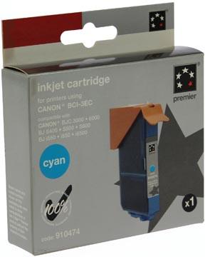 5 Star inktcartridge cyaan, 390 pagina's voor Canon BCI-3eC - OEM: 4480A002