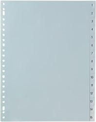5 Star tabbladen set 1-15, ft A4