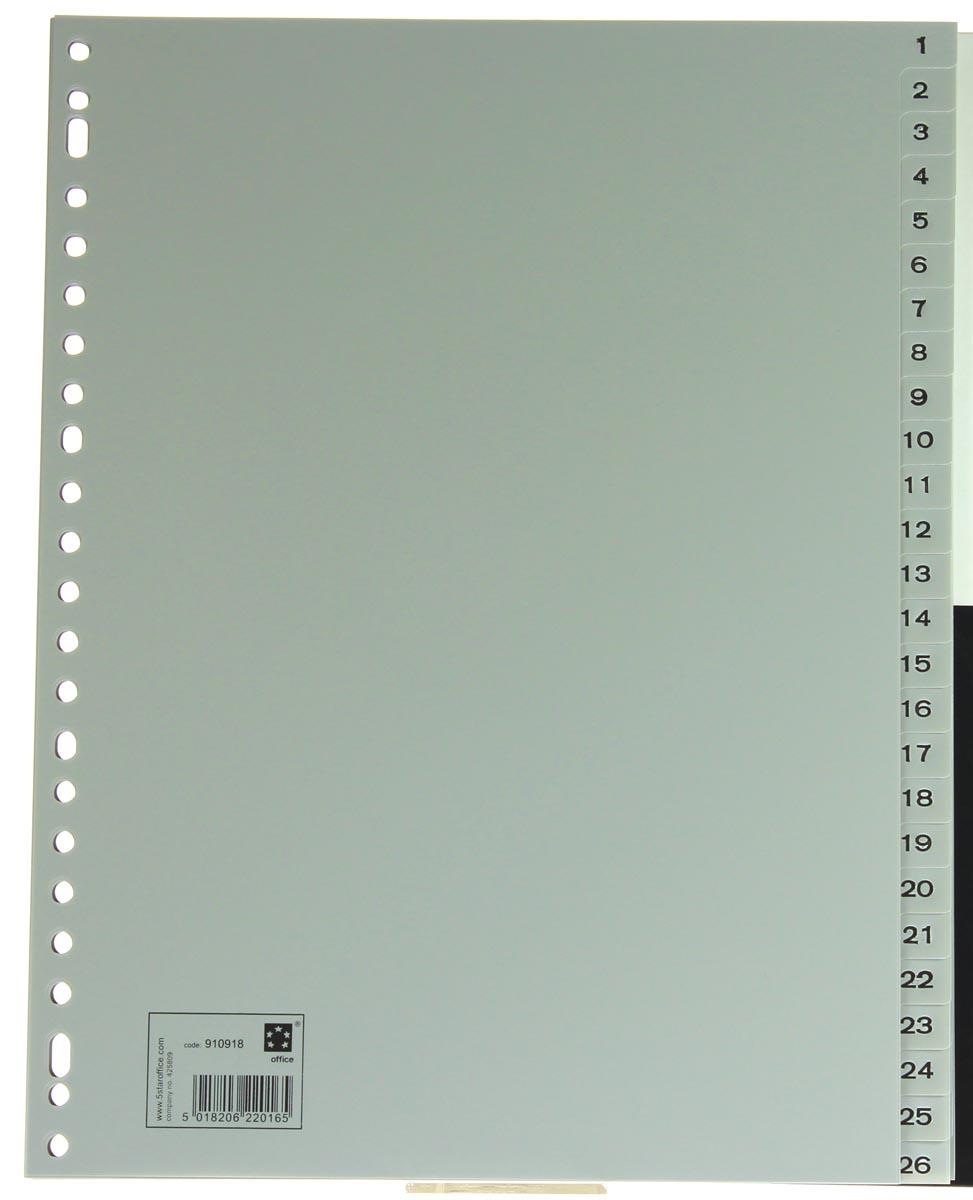 5 Star tabbladen set 1-52, ft A4