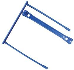 5 Star archiefbinder E-clip, blauw