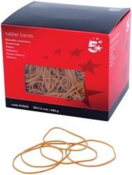 5 Star elastieken 1,5 mm x 90 mm, doos van 500 g