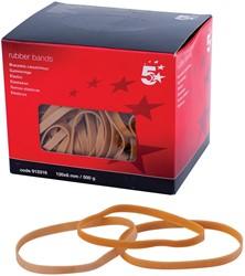 5 Star elastieken 6 mm x 120 mm, doos van 500 g