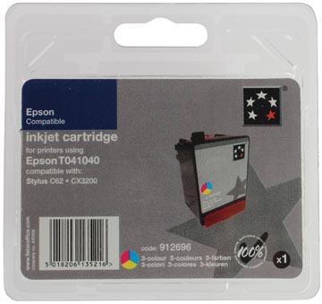 5 Star inktcartridge 3 kleuren, 300 pagina's voor Epson T041 - OEM: C13T04104010