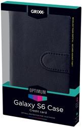 Grixx Optimum case voor Samsung Galaxy S6, zwart