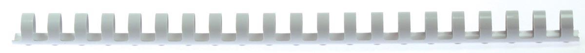 5 Star bindruggen, doos van 100 stuks, 16 mm, wit