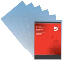 5 Star omslagen ft A4, 150 micron, uit transparante PVC, pak van 100 stuks