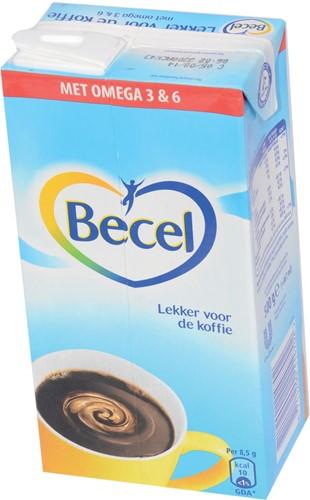 Becel koffiemelk, doos van 500 ml