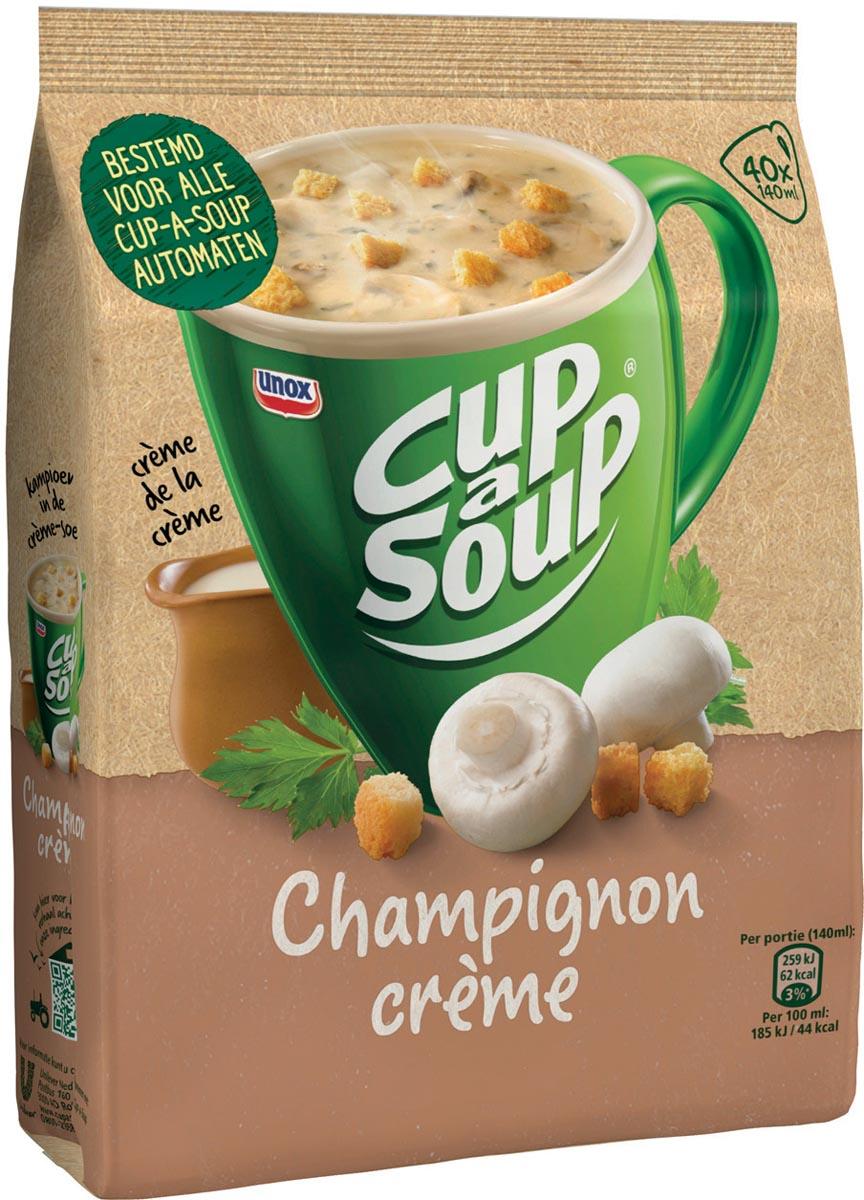 Cup-a-Soup champignon crème met croutons, voor automaten, 40 porties