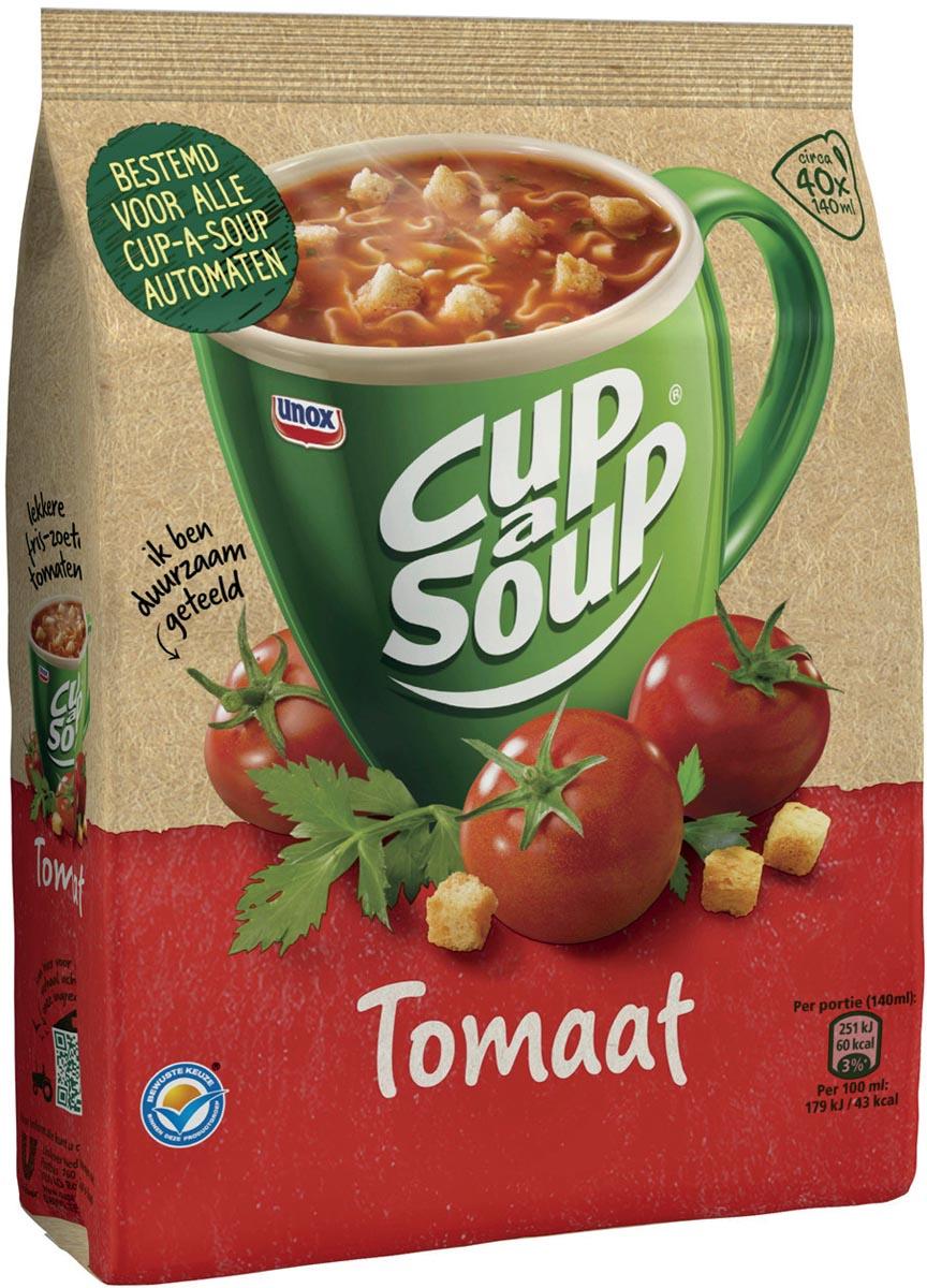 Cup-a-soup tomaat, voor automaten, 40 porties