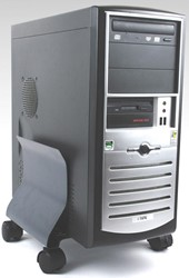 Fellowes CPU standaard, grafiet