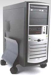 Fellowes CPU standaard, grafiet