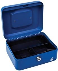 5 Star geldkoffer ft 20 x 9 x 16 cm, blauw