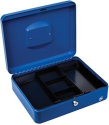 5 Star geldkoffer ft 30 x 9 x 24 cm, blauw
