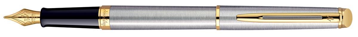 Waterman Collectie Hemisphère vulpen medium, Steel GT