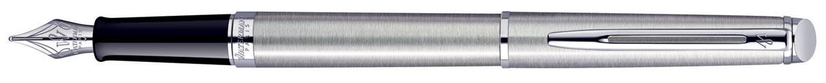 Waterman Collectie Hemisphère vulpen medium, Steel CT