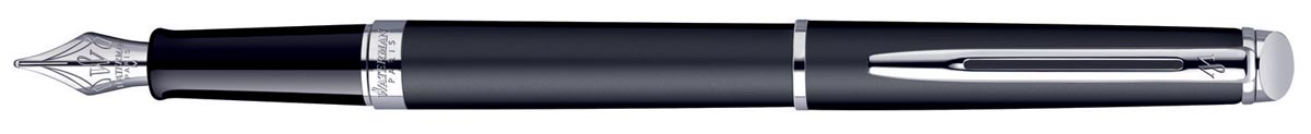 Waterman Collectie Hemisphère vulpen medium, Matte Black CT