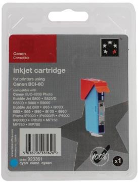 5 Star inktcartridge cyaan, 280 pagina's voor Canon BCI-6C - OEM: 4706A002