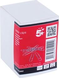 5 Star papierklemmen 75 mm rond, doos van 100 stuks