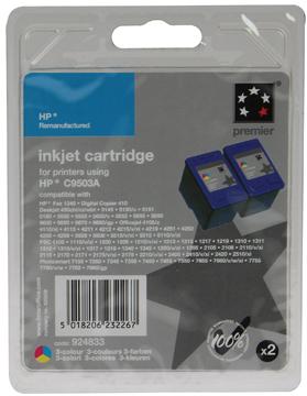 5 Star inktcartridge 3 kleuren, 500 pagina's voor HP 57 - OEM: C9503AE
