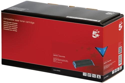 5 Star toner zwart, 2500 pagina's voor HP 124A - OEM: Q6000A