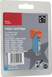 5 Star inktcartridge cyaan, 420 pagina's voor Canon CLI-8C - OEM: 0621B001