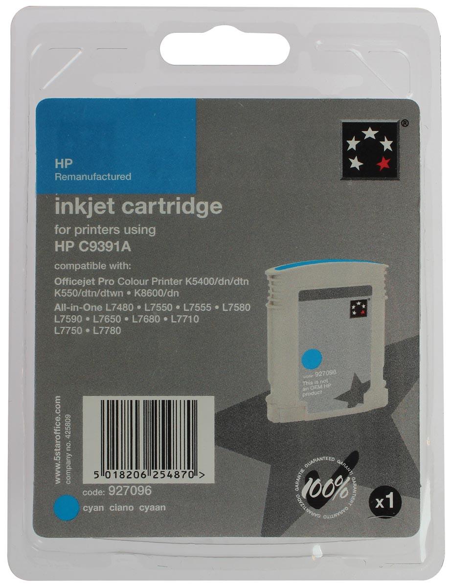 5 Star inktcartridge cyaan, 1750 pagina's voor HP 88XL - OEM: C9391AE