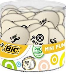 Bic gom Mini Fun, plastic pot met 36 stuks
