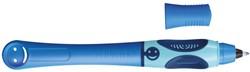 Pelikan inktpen Griffix voor linkshandigen, blauw, op blister
