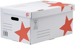 5 Star Flip Top containerdoos