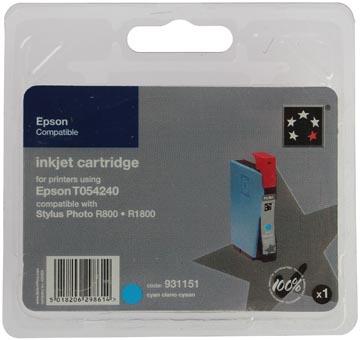 5 Star inktcartridge cyaan, 400 pagina's voor Epson T0542 - OEM: C13T05424010