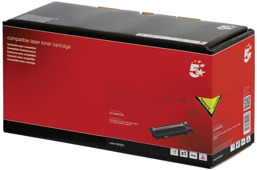 5 Star toner magenta, 1000 pagina's voor Samsung M4072 - OEM: CLT-M4072S/ELS