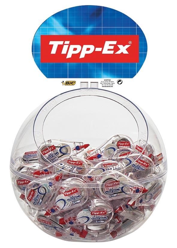 Tipp-ex Mini Pocket Mouse, bubble met 60 stuks