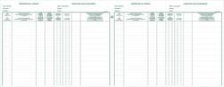 Exacompta aandeelhouders, ft 24 x 32 cm, tweetalig, voor BVBA