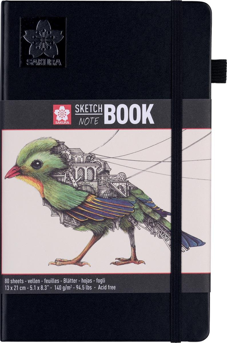 Sakura schetsboek Note, wit, ft 13 x 21 cm