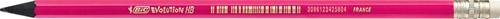 Bic potlood met gum Evolution fluo, blister met 4 stuks-2