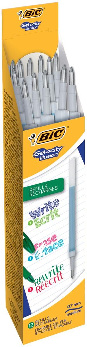 Bic vulling voor gelroller Gel-ocity illusion, doos met 12 stuks, groen