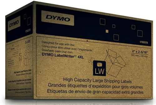 Dymo etiketten LabelWriter ft 102 x 59 mm, wit, 1150 etiketten