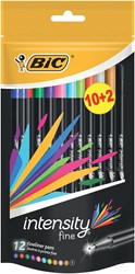 Bic fineliner Intensity 2+1 GRATIS