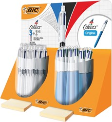 Bic 4 Colours medium & 3+1 HB, tubo van 40 stuks