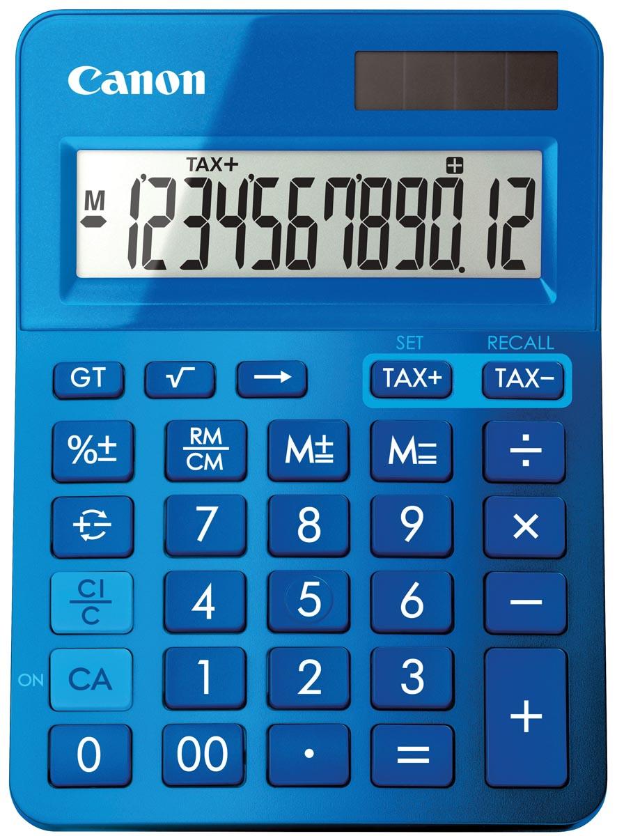 Canon mini bureaurekenmachine LS-123K blauw