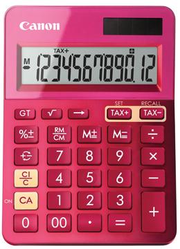 Canon mini bureaurekenmachine LS-123K roze