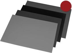 Rillstab onderlegger ft 52 x 65 cm, zwart