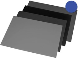 Rillstab onderlegger ft 52 x 65 cm, blauw